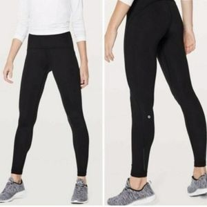 Lululemon Fast As Fleece Tight Full Length Legging